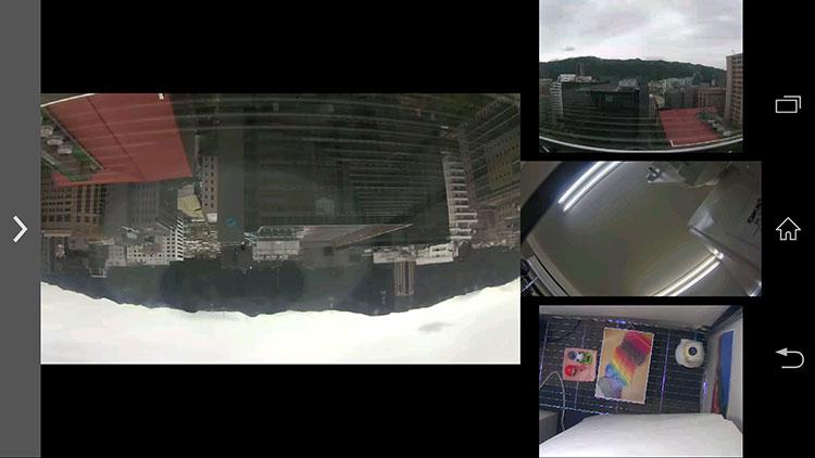iGuard2(Android) 監視カメラ映像の確認ができます。